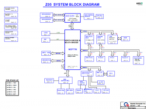 Acer AS4230 AS4530 block diagram
