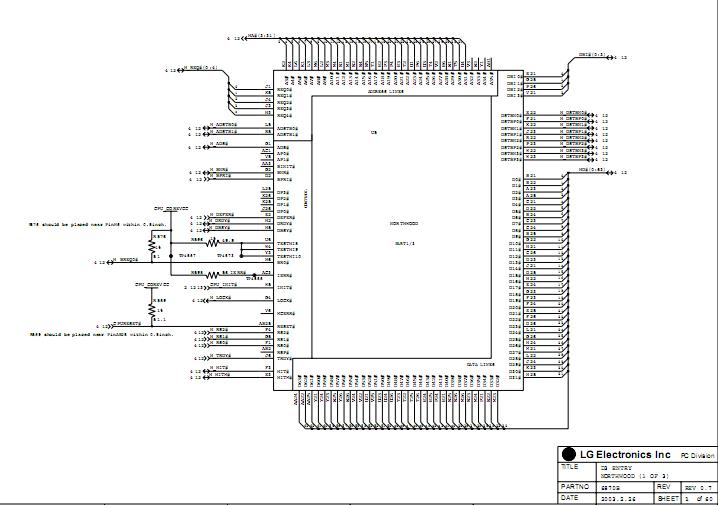 IBM Thinkpad R40e schematic    diagram        Laptop Schematic