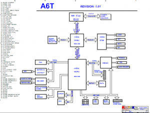 Asus A6T Block Diagram