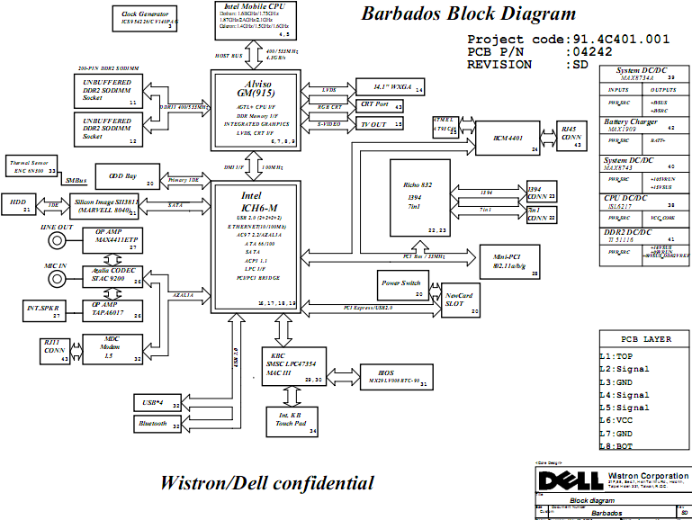 dell inspiron 630m xps m140 schematic diagram  u0026 boardview  u2013 laptop schematic