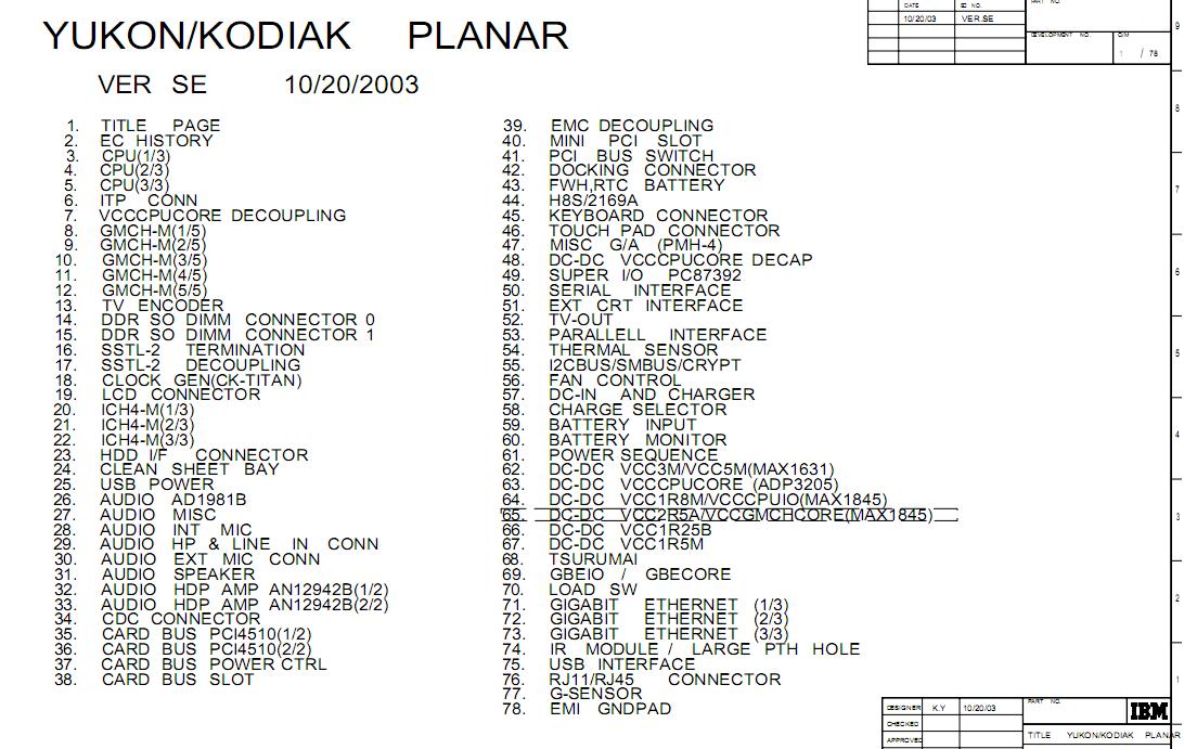 ibm  u0026 lenovo schematics  u2013 page 16  u2013 laptop schematic