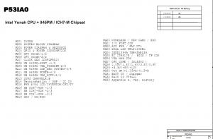 Fujitsu PI 1536 schematic diagram