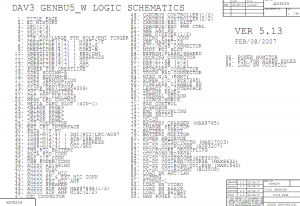 Lenovo Thinkpad R61 schematics
