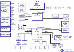 acer AS3500 3630 TM 2310 2430 Block Diagram