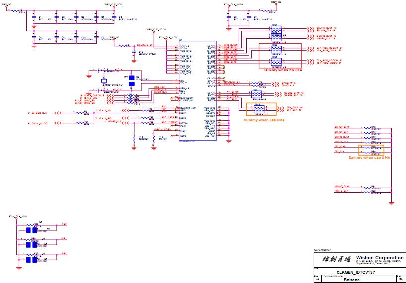 Acer Aspire 3020 5020 Laptop Schematic Diagram  U2013 Laptop Schematic