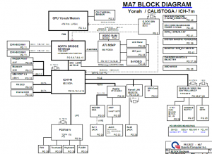 Gateway MX6931 Block Diagram