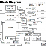 Wistron MW9 motherboard schematic diagram