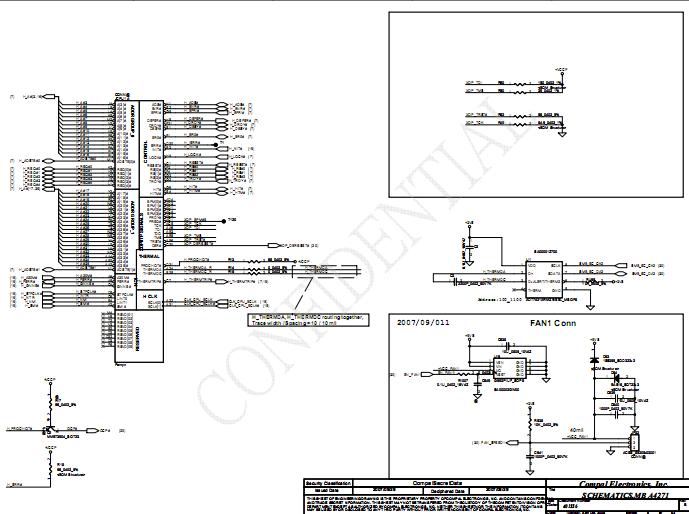 Acer Aspire 2430 2930 2930z Schematic Diagrams  U2013 Laptop