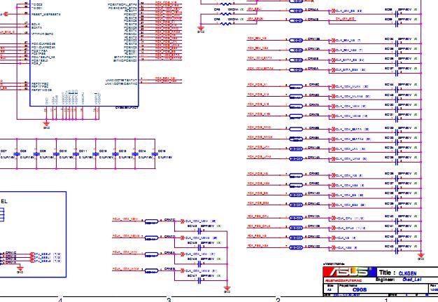 Asus    circuit    diagram        Laptop    Schematic