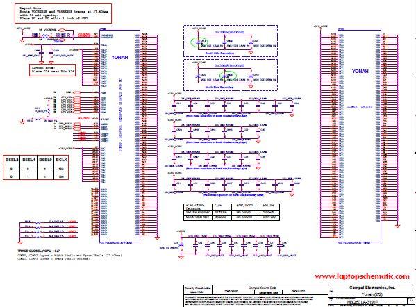 Acer Aspire 9110 Schematic Hbq60 La