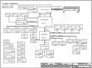 Hcw51 la-3121p schematic
