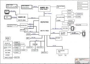 Fujitsu Amilo Pa2548 Block Diagram