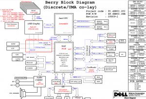 Dell Inspiron N5010 (Intel) Block Diagram