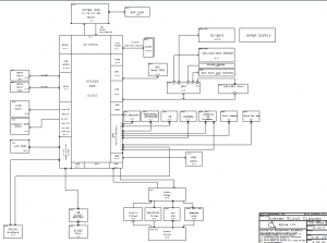 Apple Macbook Unibody A1278 Block Diagram