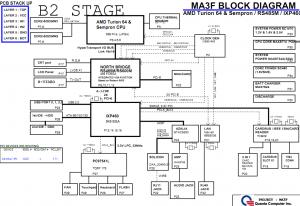 Gateway MT6451 MT6485 Block Diagram