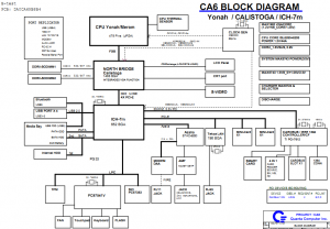 Gateway NX260X,M255 Block Diagram