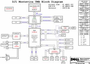 Dell Inspiron N4020 Block Diagram