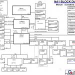 Gateway E-265M/E-475M schematic, Quanta NA1
