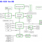 MSI Megabook M655 schematic, MS-1039