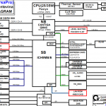 NEC LL550 (GM45) schematic, Quanta AK3M