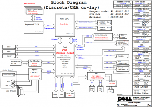 Dell Inspiron 14 (N4050) Block Diagram