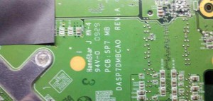 HP ENVY 15 (SP7) PCB