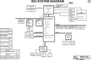 HP Pavilion G6 G7 (Discrete) Block Diagram