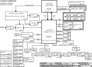 Toshiba Qosmio X770 X775 Block Diagram