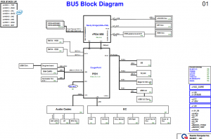 Toshiba Satellite L730 Block Diagram