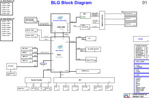Toshiba Satellite L750 L755 Block Diagram
