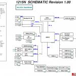 Asus EeePC 1215N schematic