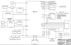 Apple X140 iPad 4 820-3249 Block Diagram