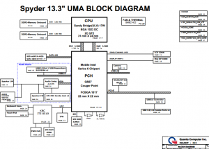 Dell XPS 13 L321X Block Diagram