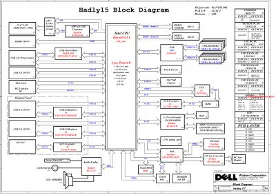 Dell Inspiron 7437/7537/7737 Block Diagram