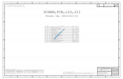 Apple MacBook Air 11 A1465 2012 Schematic