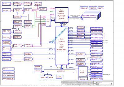 Dell Alienware M17x R5 R6 P18E Compal VAS00 LA-9331P Schematic