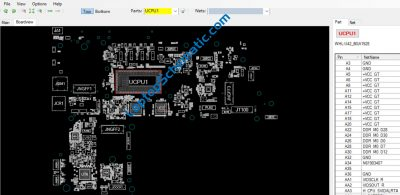 Dell Latitude 7200 2-in-1 LA-G661P Motherboard Boardview