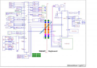 Dell Latitude 7200 2-in-1 LA-G661P Motherboard Schematic Diagram