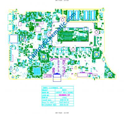 Dell XPS 15 9575 DAZ10 LA-F211P Boardview PDF