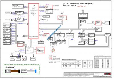 Thinkpad T490S X390 NM-B891 Schematic