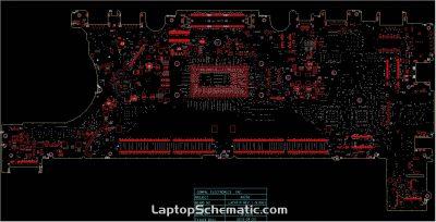 Dell Latitude E7270, E7470 Compal AAZ50 LA-C451P Rev 1.0 BoardView(.brd)