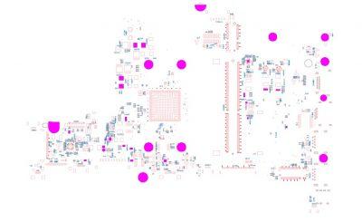 Dell Inspiron 3493 3593 3793 5493 5593 3595 Schematic & Boardview FDI52 LA-H872P