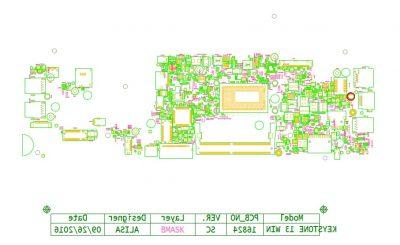 Dell Latitude 13 3380 16824-1 Schematic & Boardview
